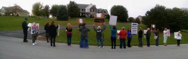 Demonstration at the home of John Vestal, VP of ATI.