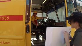 DHL Driver
