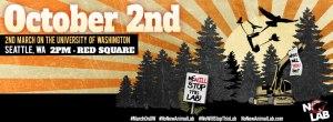 UW march banner